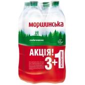 Вода  Моршинська 1,5л слабогазированная 3+1 – ИМ «Обжора»