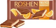 """Шоколад, """"Рошен"""", 90 г, молочный с апельсиновой нугой – ИМ «Обжора»"""