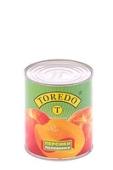 Консервированные персики половинками, Toredo, 850 мл – ИМ «Обжора»