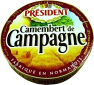 "Сыр ""Президент"" Камамбер де Кампань 45%, 250 г – ИМ «Обжора»"