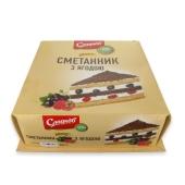 """Торт """"Cметанник"""", Сладков, 800 г – ИМ «Обжора»"""