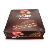 """Торт """"Пражский с вишней"""", Сладков, 800 г – ИМ «Обжора»"""