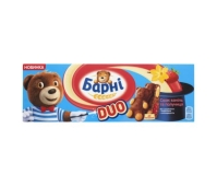 Бисквит Корона Барни, 30 г*5шт, клубника-ваниль – ИМ «Обжора»
