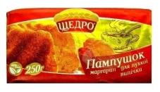 """Маргарин для пышной выпечки """"Пампушок"""" 72%, 250 г – ІМ «Обжора»"""