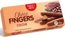 Печенье Sweet art  Choco fingers какао, 150 г – ИМ «Обжора»