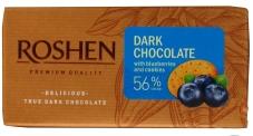 """Шоколад """"Рошен"""" экстрачерный, черника-печенье , 90 г – ИМ «Обжора»"""