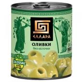"Оливки ""Эллада"" Сolossal без косточки, 850 мл – ИМ «Обжора»"