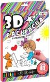"""3D-раскраска """"Девочка"""", в коробке 27см-21,5см-2см – ИМ «Обжора»"""