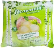 """Пельмени """"Белая Бяроза"""", с мясом индюка и кролика, 777 г – ИМ «Обжора»"""