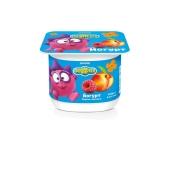 "Йогурт ""Данон"", Смешарики, 1.4%, 115 г,  ""Персик-малина"" – ИМ «Обжора»"