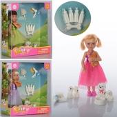 Кукла с собачкой и щенками DEFA 8297, 15-16, 5-6 см – ИМ «Обжора»