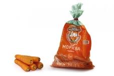 """Морковь свежая фасованная """"Чудова"""" 1 кг – ИМ «Обжора»"""