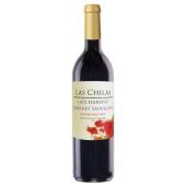 Вино красное полусладкое, Лас Чилас Лэйт Харвест Каберне Совиньон, 0.75 л – ИМ «Обжора»