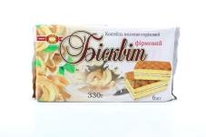 "Бисквит ""ХБФ"", молочно-ореховый, 330 г – ИМ «Обжора»"