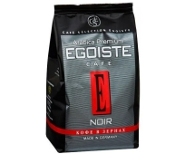 Кофе в зёрнах EGOISTE Noir Beans Pack, 250 г – ИМ «Обжора»