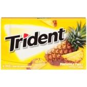 Жвачка Тридент 14 пластинок, ананас, США – ИМ «Обжора»