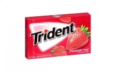 Жвачка Тридент 14 пластинок, клубничный твист, США – ИМ «Обжора»