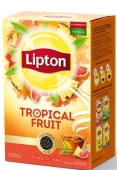 "Чай ""Липтон"" Tropical Fruit, 80 г – ИМ «Обжора»"