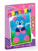 """Веселые помпоны """"Мишка"""" в коробке 30 см - 22 см -1 см – ИМ «Обжора»"""