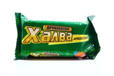 """Халва """"Дружковская"""" c арахисом, 200 г – ІМ «Обжора»"""