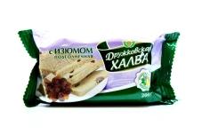 """Халва """"Дружковская"""" с изюмом, 200 г – ИМ «Обжора»"""