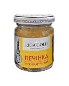 Печень трески Riga Gold,  85 г – ИМ «Обжора»