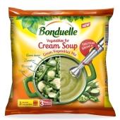 """Замороженные овощи для крем-супа """"Зелёный"""" """"Бондюэль"""", 400 г – ИМ «Обжора»"""