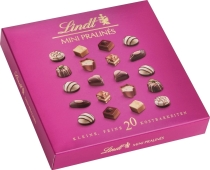 Конфеты Lindt mini pralines, 100 г – ИМ «Обжора»