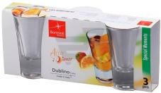Чарка для водки, 57 мл, 3 шт, Dublino – ИМ «Обжора»