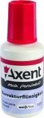 Корректор на спиртовой основе Axent, 20 мл – ИМ «Обжора»