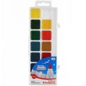 Краски акварельные `Чудо-краски`, 14 цветов, без кисточки – ИМ «Обжора»