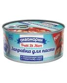 """Консервы """"Аквамарин"""", заправка к пасте с морепродуктами, 185 г – ИМ «Обжора»"""