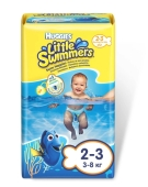 Подгузники HUGGIES little swimmers dory, 2-3, 12x8 – ИМ «Обжора»
