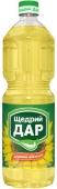 Масло Щедрый дар подсолнечное нерафинированное 0,85 л – ІМ «Обжора»