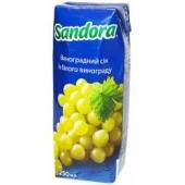 Сік Сандора 0,25л виноград біл. – ІМ «Обжора»