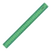 Лінійка пластикова 30 см, Delta, зелена – ІМ «Обжора»