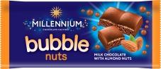 Шоколад Миллениум пористый молочный миндаль 70 г – ИМ «Обжора»