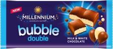 Шоколад Миллениум  пористый молочный и белый, 70 г – ИМ «Обжора»