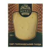 """Сыр """"Мукко"""" """"Голландский Гауда"""", 320 г – ИМ «Обжора»"""