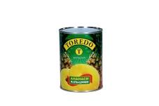 Консервированный ананас в сладком сиропе кольца Toredo 580 мл – ИМ «Обжора»