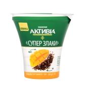 Бифидойогурт Данон Активиа 3% 230 г манго-чиа стакан – ИМ «Обжора»