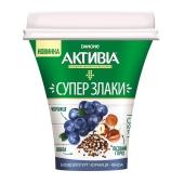 Бифидойогурт Данон Активиа 3% 230 г черника-киноа – ИМ «Обжора»