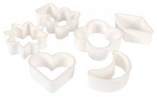 Набір форм для вирізання печива 6 шт., пластик – ІМ «Обжора»