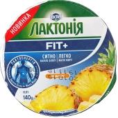 Крем сырковый Лактония Ананас нежирный 140 г – ИМ «Обжора»