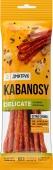 Колбаски KABANOSY DELICATE куриные с добавлением свинины 100 г – ИМ «Обжора»