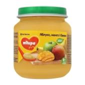 Пюре Milupa яблоко-манго-банан с 6 месяцев 125 г – ИМ «Обжора»