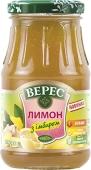 Конфитюр Верес 400 г лимон с имбирем – ИМ «Обжора»