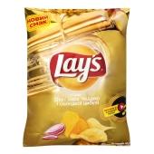 Чипсы Lays со вкусом сыра чеддер и сладкого лука, 120 г – ИМ «Обжора»