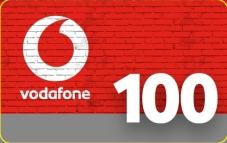 Карточка пополнения Vodafone 100 грн – ІМ «Обжора»