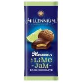 Шоколад Миллениум муссовый черный лайм 135 г – ИМ «Обжора»